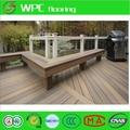 Parquet de madera de los precios del suelo suelo impermeable/de corcho de espalda no- deslizamiento suelo para el patio trasero
