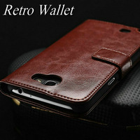 Classic PU leather wallet phone case for Samsung Galaxy Note 2 N7100 stand to watch movie