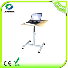 Angle&Height Adjustable Computer Desk With Integrated 4-Ports USB Hubs