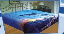 2014 hot sell fashion dolphin 200g microfiber quilt