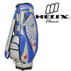 Helix PU Leather Glossy PU golf cart bag with good quality