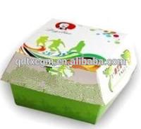 Hot dog paper box
