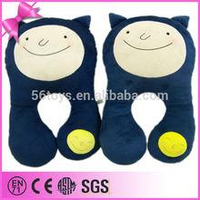 free sample cheap stuffed plush animal shaped cushion made in china