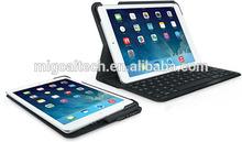 Ultrathin Keyboard tablet Folio for ipad air keyboard leather case M29B high quality