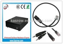Factory Wholesale KER-410 Black Cash Drawer Automatic Cash Register