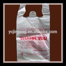 thank you t-shirt packaging plastic bag
