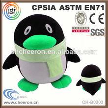 Promotional gift plush christmas toy penguin