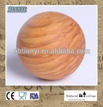 Olive wood toy balls