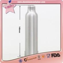 aluminum foam bottle with foaming pump for shampoo pe pet