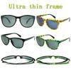 Alibaba China Fashion Ultra Thin Frame Italian Sunglasses