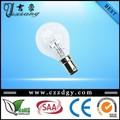 hot 6v 10w g45 b22 halógena lâmpada de luz