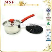 MSF-3049R stainless steel cookware kitchen cooking utensils handles of bakelite pans