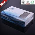 Promocional recicláveis caixa de papelão design desenho certificada pela iso, bv, sgs, ex preço de fábrica