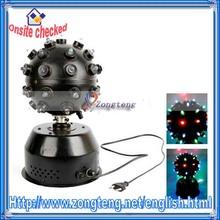 110V 10W LED Magic Ball Light Rotating Stage Light