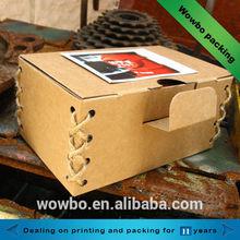 Unique kraft paper packaging box
