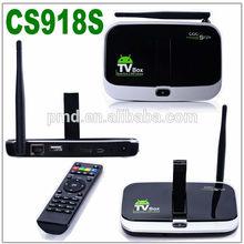 New!!! High Quality 4K CS918S quad core digital tv analog converter