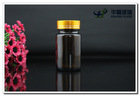 amber chemical medicine glass bottle for health care pill products