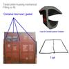 Huaxing epdm contain door gasket, J OR C type container rubber door seals