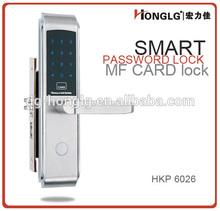 HAP6026 hot-sale family,office,apartment use RFID card door lock