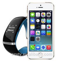 2014 hot design smart wearing watch woman bracelet mobile phone accessoires