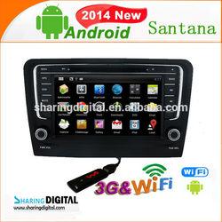 VWM-8407GDA Support Mirror-Link volkswagen Santana CAR DVD NAVIGATION