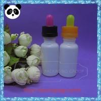 2014 new design glass dropper bottle 20ml milk white ejuice bottle hot sale