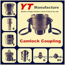 "cam lock hose fitting operation, 1/2""-6"", A/B/C/D/E/F/DC/DP, OEM Manufacturer"