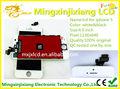 muestra de teléfono celular para el iphone 5 pantalla lcd de montaje hecho en china