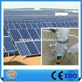 プレーンフラット砂利の屋根太陽光発電パネルラック