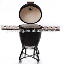 stainsless steel Kamado bbq ceramic grills