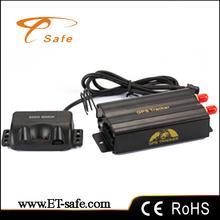 Mini Vehicle Car GPS Tracker 103B+ Real-time Tracking 2 / Dual SIM/GPRS/GPS/GSM Google Map Remote Control Central Alarm