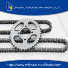 optimum sale 40Mn/45Mn 10#steel motorcycle chain and sprocket suit for Kawasak