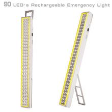 high brightness 220V 90leds emergency led ligth recharge