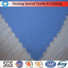 Tensile strength CVC fabric polycotton esd conductive negastat fiber fabric