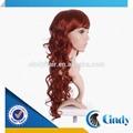 dark cor vermelha indiana cabelo humano profunda onda de seda topo perucas do laço franja