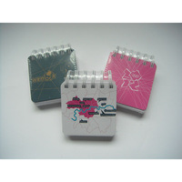 Hot selling mini spiral notebook