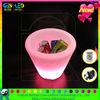led plastic flower flower pot party decorations ice bucket
