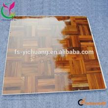 Cheap portable teak wooden dance floor with aluminum edge YCF-0275