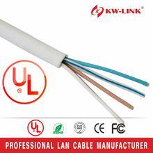 Top grade updated rj11 cat3 indoor telephone cable 0.5mm