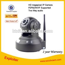 720p 2 way audio 1.0MP P2P IP camera wifi H.264 P2P wireless IP camera wifi ptz network cam