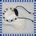 11-12mm aa- drop pulseira de pérolas naturais