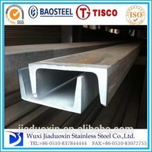 310 channel steel american standard stainless steel black u channel