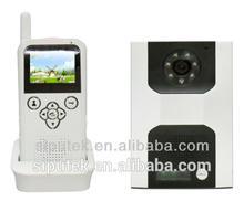 2.4ghz digital wireless intercom video door phone outdoor wireless speakers for villa