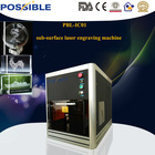 2014 newest type eastern Possible brand fantastic 3d crystal printer with golden price