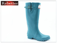 Good quality over the knee women rubber rain boots