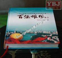 China printing customized cheap hardcover book printing