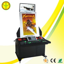 Branded creative table top video arcade game machine