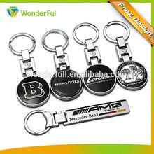 2014 Wholesales Cheap Custom Metal keychain car