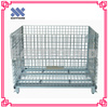 Metal Wire Mesh Stackable Folding Cargo Steel Storage Container