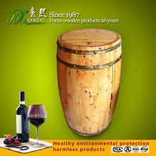 Handmade wine accessories wooden beer barrels for sale